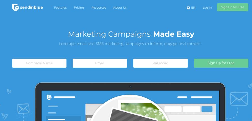 SendinBlue: alternativa a Mailchimp