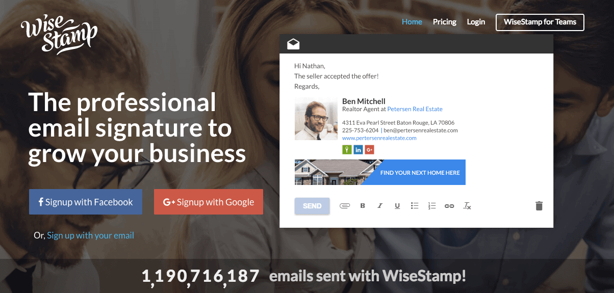 WiseStamp - Recommended Tools for Bloggers