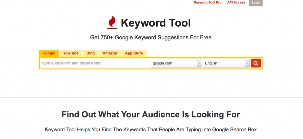 Best SEO Tools: Keyword Tool