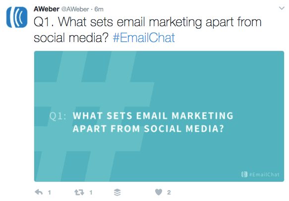 25 Best Twitter Chats for Marketers - #EmailChat