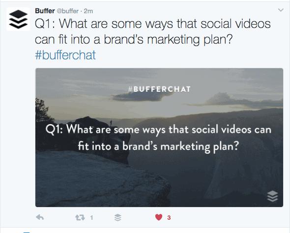 25 Best Twitter Chats for Marketers - #BufferChat