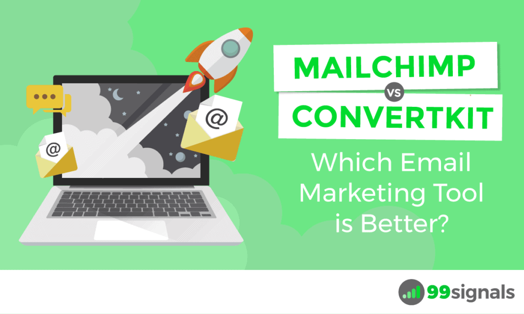 Mailchimp vs ConvertKit: quale strumento di email marketing è meglio?