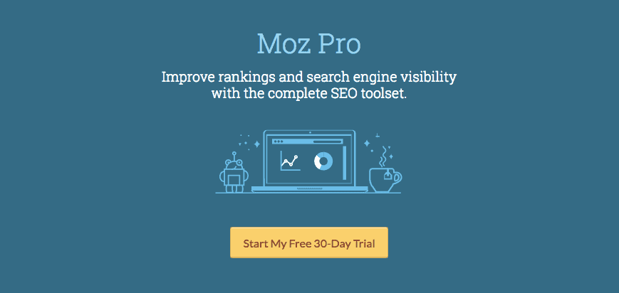 Moz Pro - The user-interface is neat and features such as backlink data and on-page grader are more accurate.I also love the fact that they've spent considerable time building Moz Local into a powerful local SEO tool.
