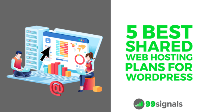 5 Best Shared Web Hosting Plans for WordPress