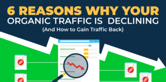 6 Reasons Why Your Organic Traffic is Declining (And How to Gain Traffic Back)