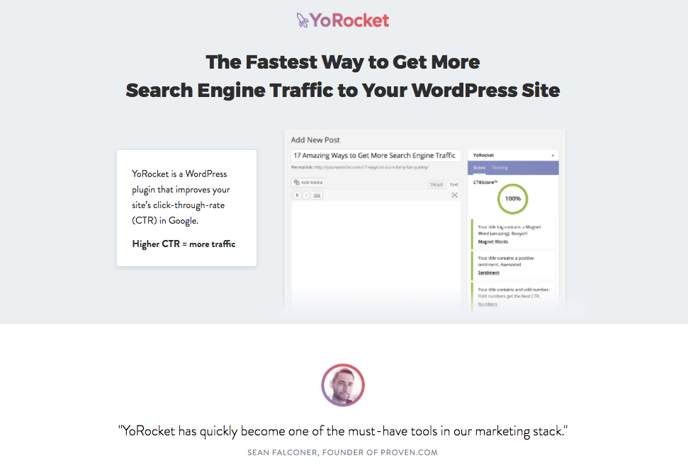 Shareable Content Tactic #5: Write Compelling Headlines - Use YoRocket WordPress plugin to optimize your headlines.