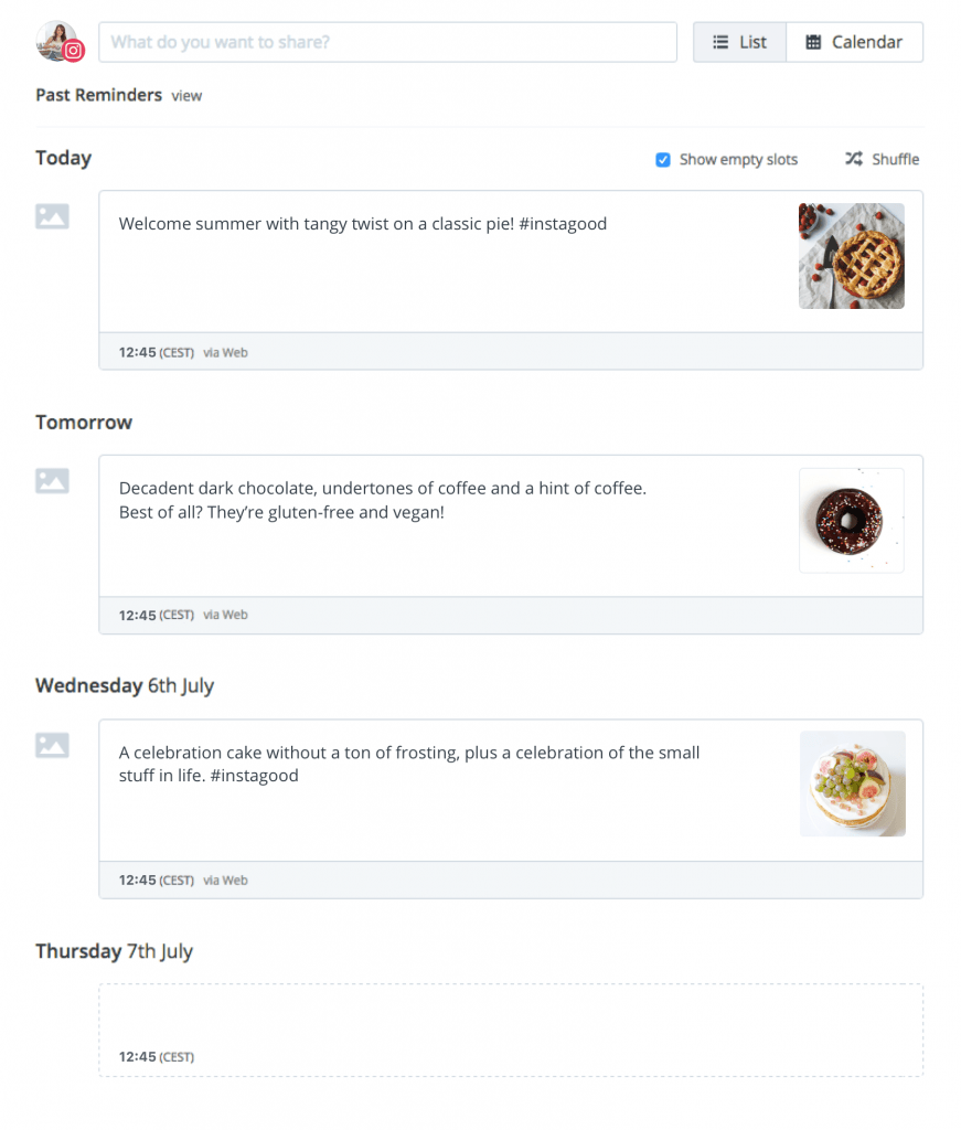 Buffer for Instagram - Buffer's integration with Instagram makes it easier for you to schedule content on Instagram.