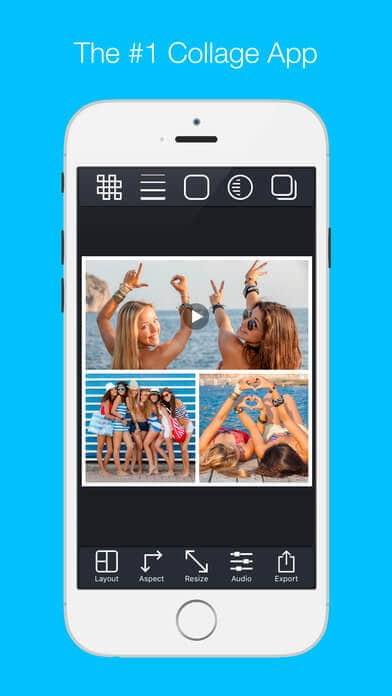 Pic Stitch - Pic Stitch quickly combines multiple photos and videos into one beautifully framed picture.