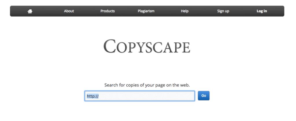 Copyscape - Prevent Negative SEO