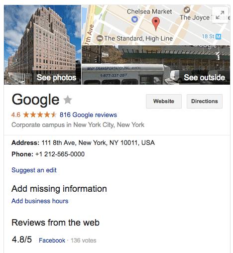 Google My Business Reviews - Negative SEO