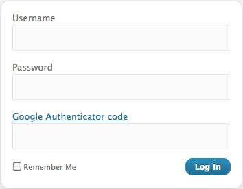 Google Authenticator Code - Prevent Negative SEO