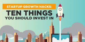 Startup Growth Hacks: Ten Things You Should Invest In