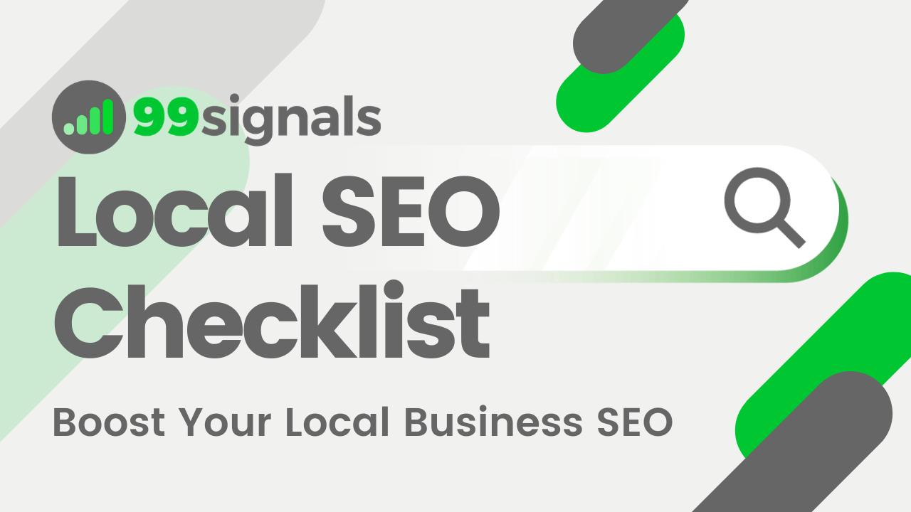 Local SEO Checklist: Boost Your Local Business SEO
