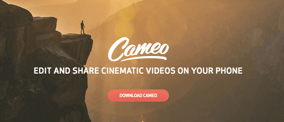 Cameo by Vimeo - iPhone Apps for Marketing Professionals