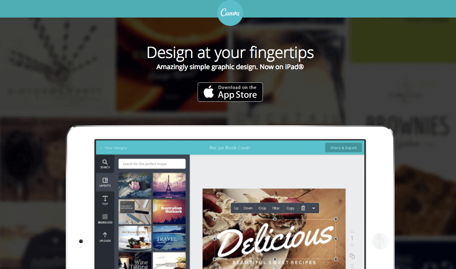 App Canva per iOS