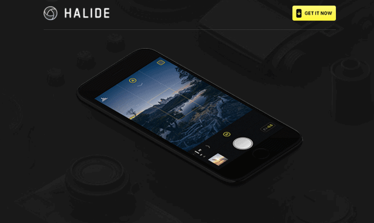 Halide iOS App - iPhone Apps for Marketing Professionals