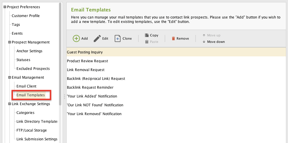 LinkAssistant - Email Templates