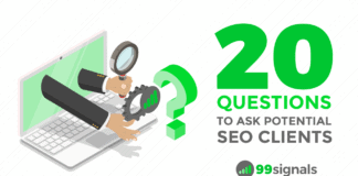 20 Questions to Ask Potential SEO Clients