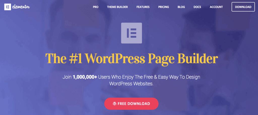 Elementor WordPress Builder