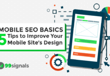 Mobile SEO Basics: 5 Tips to Improve Your Mobile Site's Design