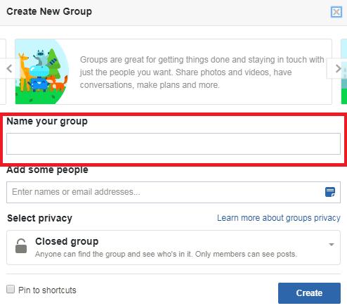 FB Group Window