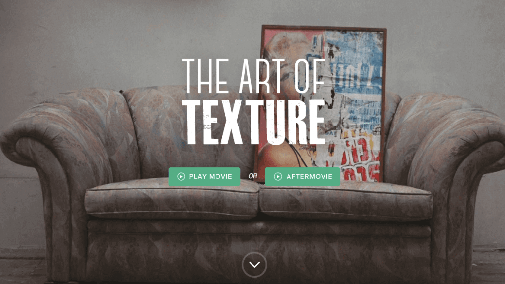 The Art of Texture Website