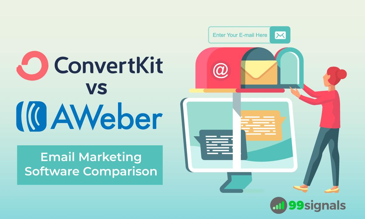 ConvertKit vs AWeber: Email Marketing Software Comparison