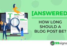[Answered] How Long Should a Blog Post Be?