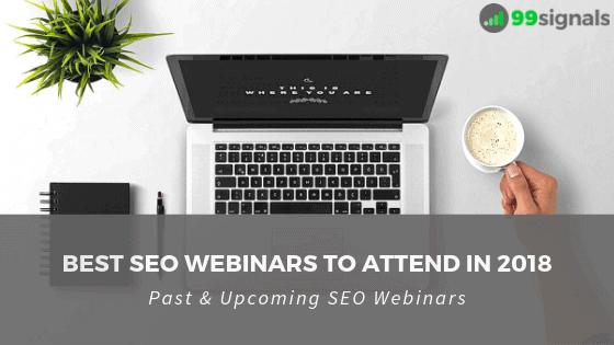 Best SEO Webinars to Attend in 2018