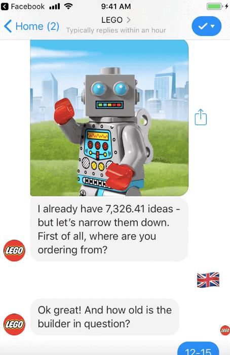Lego Chatbot Ralph