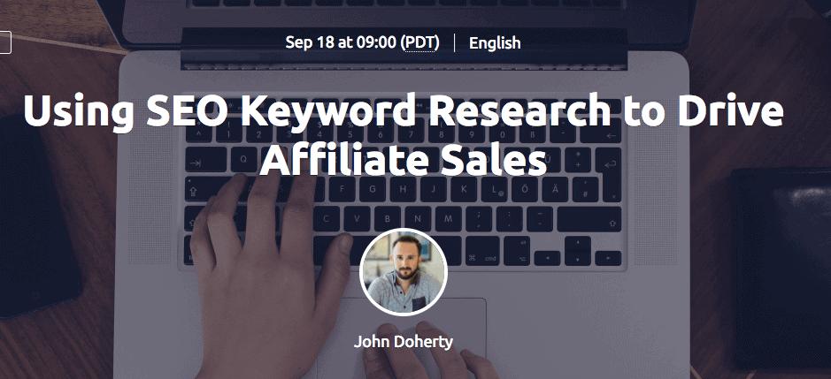 SEO Keyword Research Webinar