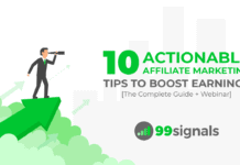 10 Actionable Affiliate Marketing Tips to Boost Earnings [The Complete Guide + Webinar]