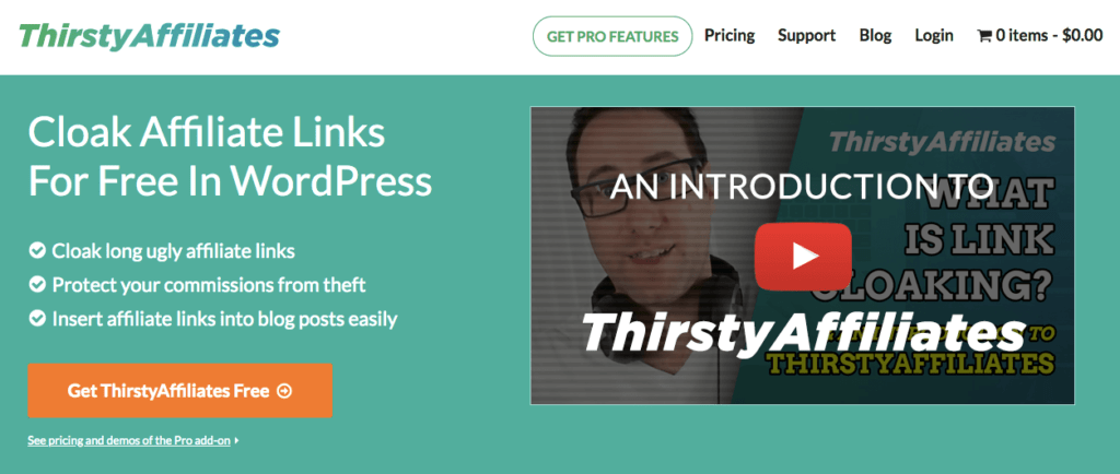 ThirstyAffiliates - WordPress Plugin