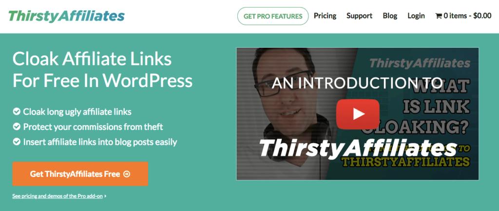 ThirstyAffiliates - WordPress Plugin