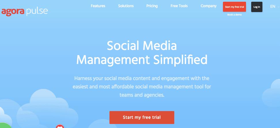 Agorapulse - Social Media Scheduling Tool
