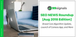 SEO News Roundup - August 2018