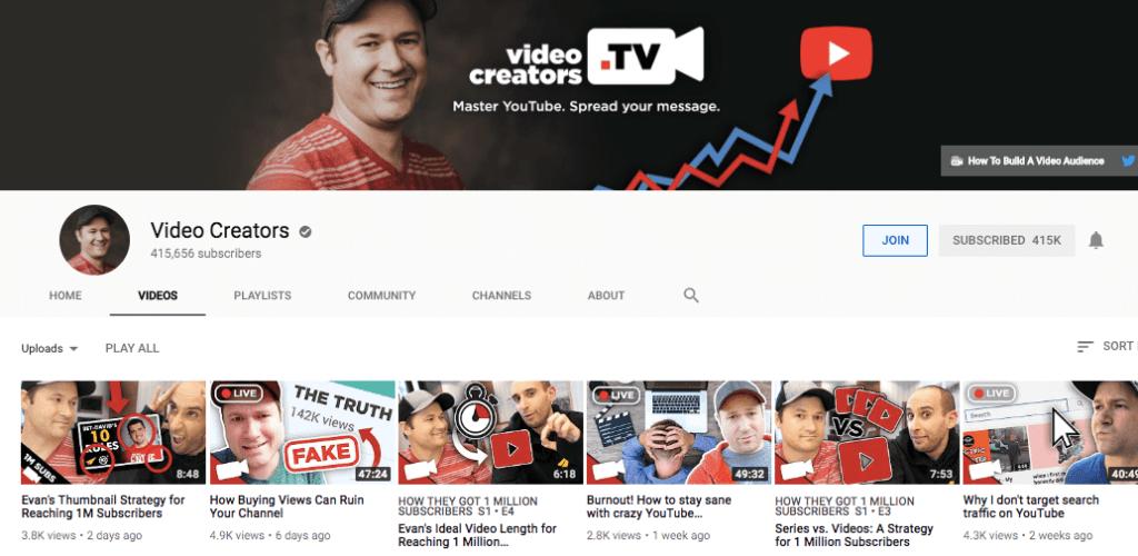 Video Creators on YouTube