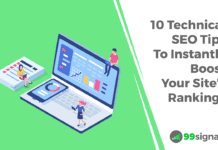 10 Technical SEO Tips to Instantly Increase Website Traffic