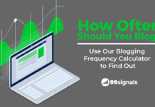 How Often Should You Blog? Use Our Blogging Frequency Calculator to Find Out