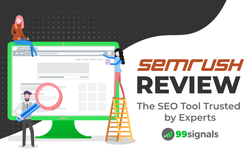 Semrush How To Look At A Sub Page