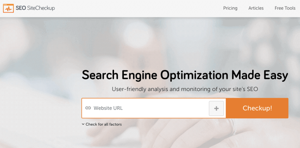 Want to run a free site audit and identify all the SEO errors on your site? SEO Site Checkup has got you covered.