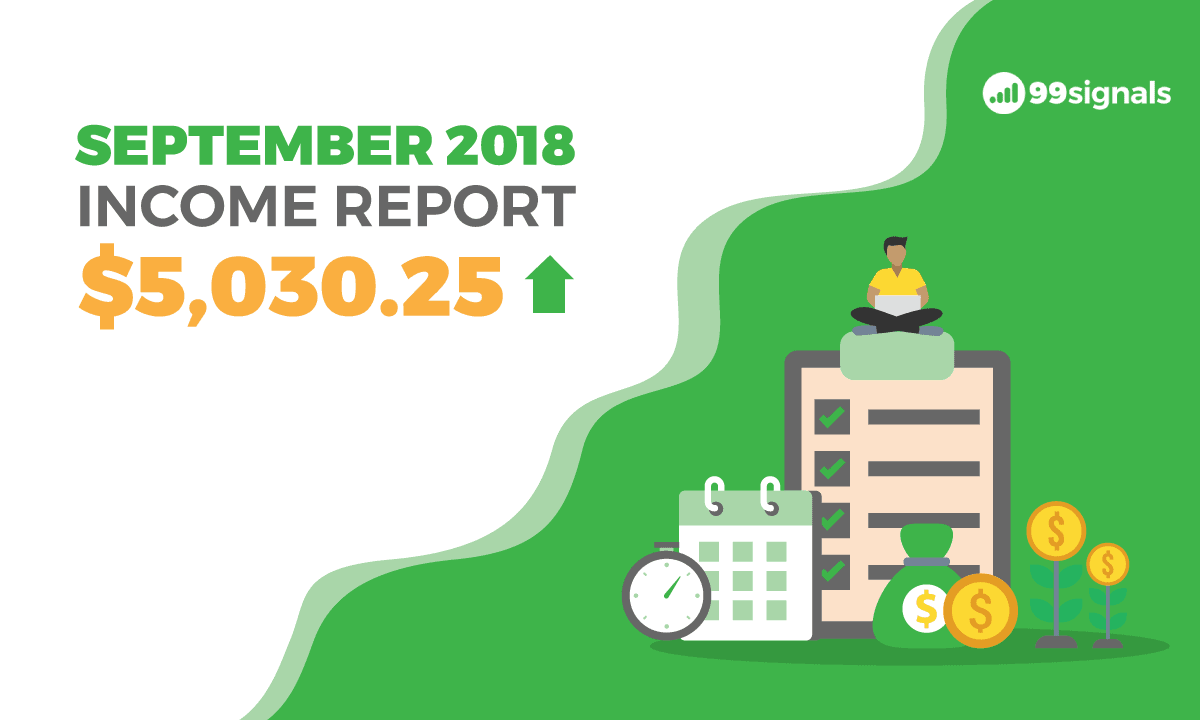 Sep 2018 Income Report - 99signals