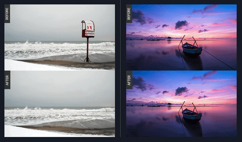 TouchRetouch is an extremely useful app which allows you to remove unwanted content in your photos. It's super fast and easy to use.