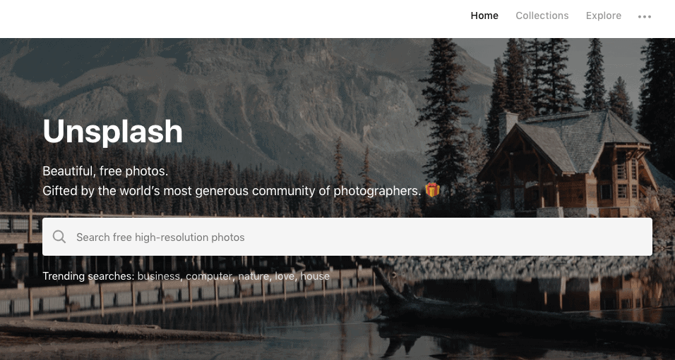 Unsplash - Unsplash is a great resource to find free high-quality stock images that you can download and use for any project.