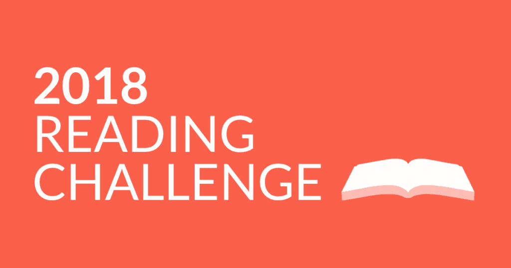 2018 Goodreads Reading Challenge