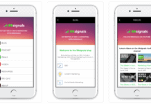 99signals Mobile App on iOS