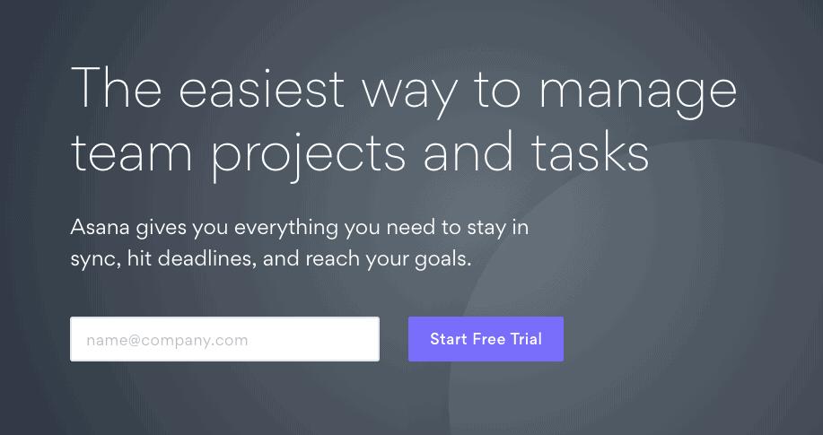 Asana Project Management App