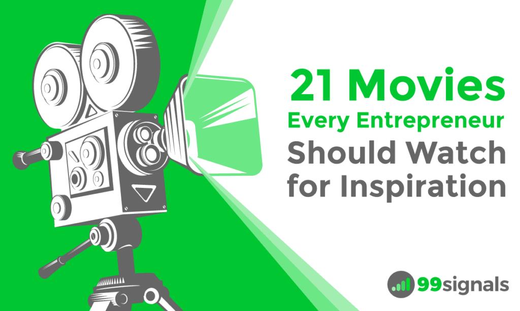 21 Best Movies for Entrepreneurs