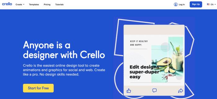 Crello Design Tool