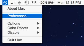 Flux for Mac